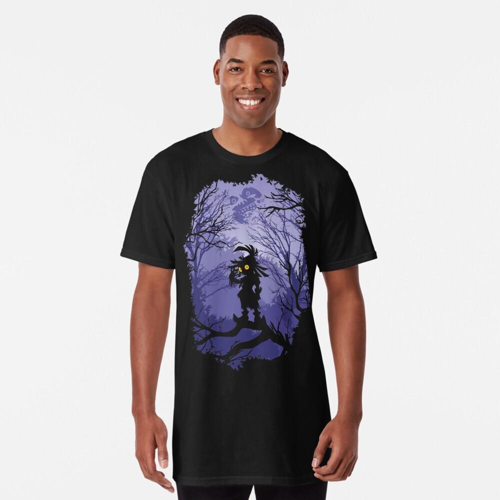 Máscara de Zelda Majora Skullkid Camiseta larga