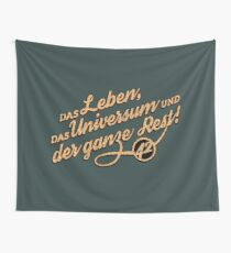 Life, universe and the rest Wall Tapestry