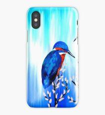 Blue and Aqua - Love iPhone Case/Skin