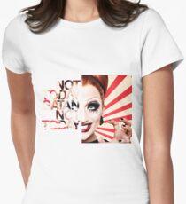 Camiseta entallada para mujer Not Today Satan - Bianca Del Rio