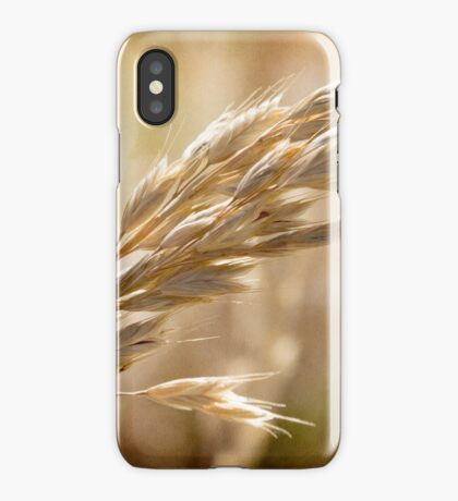 The hot gold hush of noon iPhone Case