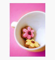 Flower Cookies Photographic Print