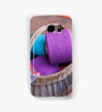 wool in basket Samsung Galaxy Case/Skin