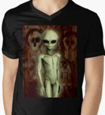 WANDJINA Men's V-Neck T-Shirt