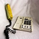 Corn's on the phone. by MagnusAgren