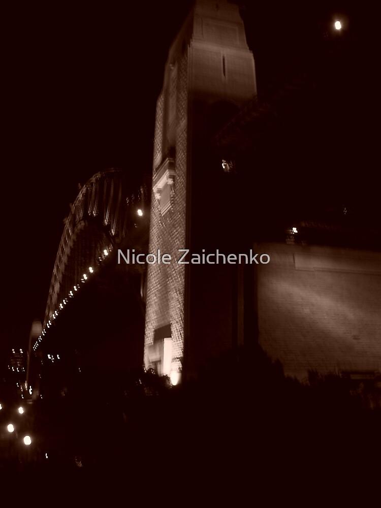 Harbour Bridge, Milson Point by Nicole Zaichenko