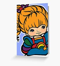 Rainbow Brite [ iPad / Phone cases / Prints / Clothing / Decor ] Greeting Card