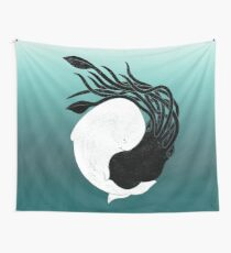 Sea Frenemies Wall Tapestry