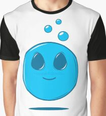 Bubble Blue Graphic T-Shirt