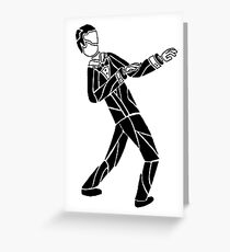 Tux Greeting Card