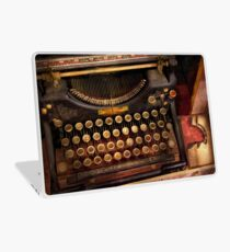 Steampunk - Just an ordinary typewriter  Laptop Skin