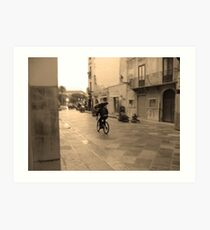 Hommage to Cartier-Bresson Art Print