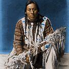 A medicine pipe - Blackfoot - American Indian by DanKeller