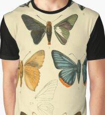 Vintage Moth Illustrations  Graphic T-Shirt