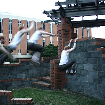 Parkour Wall Leap by GQ1NYC