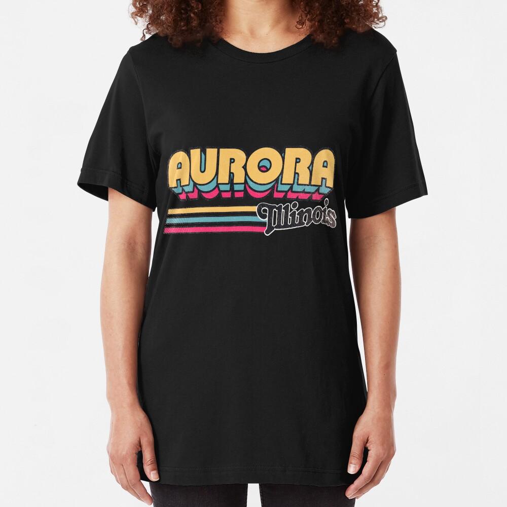 Aurora, IL | City Stripes Slim Fit T-Shirt