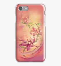 """""""The Magnolia"""" from the seriea """"Flower Galaxies"""" iPhone Case/Skin"""