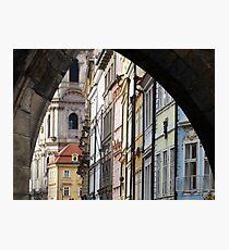 Prague Backstreets Photographic Print