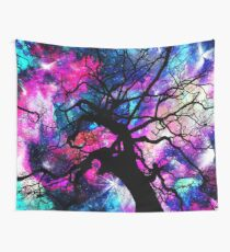 Starfield Tree Wall Tapestry