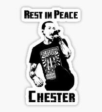 Rest in Peace Chester Sticker