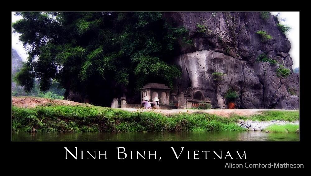 Ninh Binh, Vietnam by Alison Cornford-Matheson