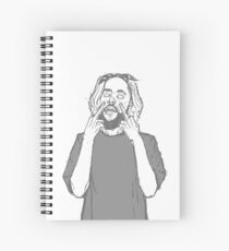 Suicide Boys Scrim Spiral Notebook