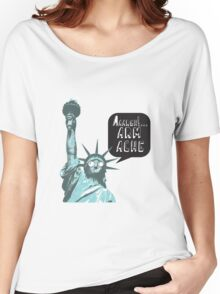 Liberty arm ache Women's Relaxed Fit T-Shirt