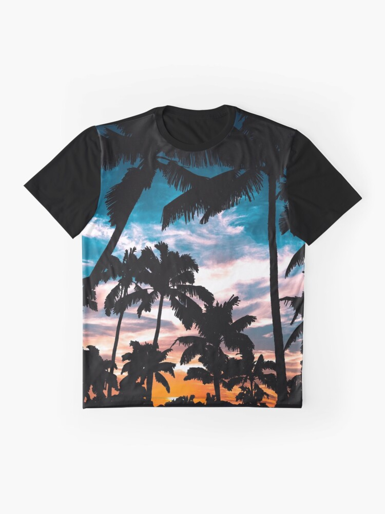 Alternate view of Palm trees summer dream Graphic T-Shirt