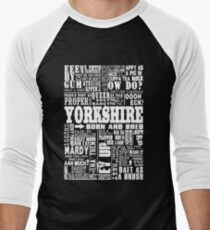 YORKSHIRE SAYINGS Men's Baseball ¾ T-Shirt