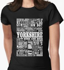 YORKSHIRE SAYINGS Women's Fitted T-Shirt
