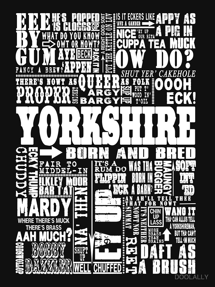 YORKSHIRE SAYINGS by DOOLALLY