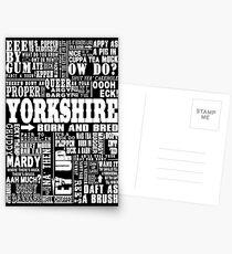 YORKSHIRE SAYINGS Postcards