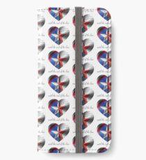 Stucky Heart iPhone Flip-Case/Hülle/Klebefolie