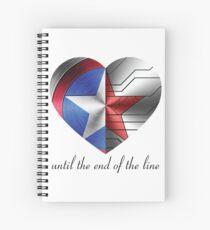 Stucky Heart Spiral Notebook