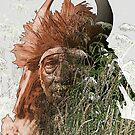 Bull Chief-Crow (Apsaroke) Americna Indian by DanKeller