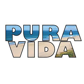 Vacation Summer Design - Pura Vida by kudostees