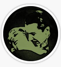 Count Dracula and Victim Sticker