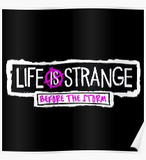Before the Storm Logo - Life is Strange 1.5 Poster