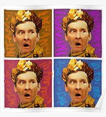 Pop Art Kenneth Williams Poster