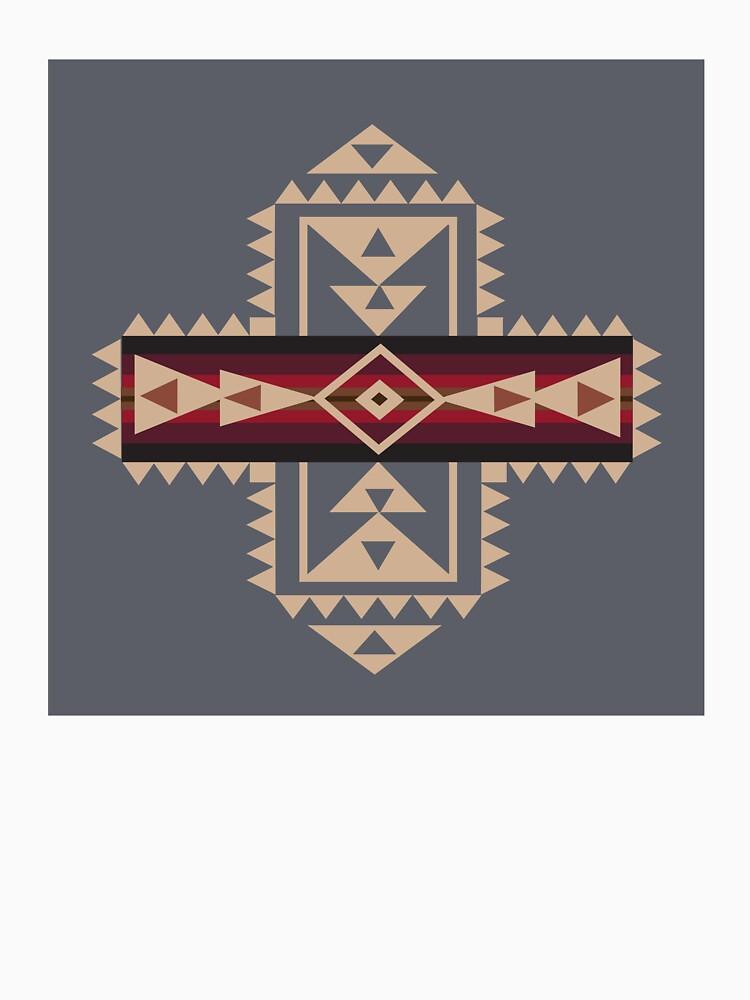 American Native Muster Nr. 68 von ArtBakmann