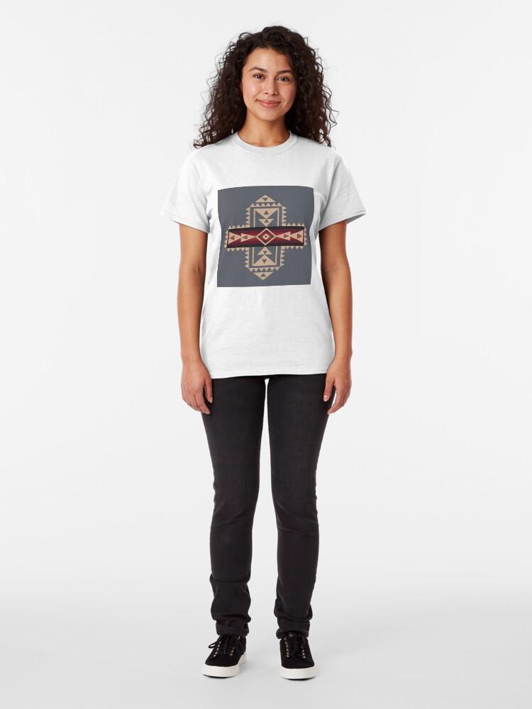 Alternative Ansicht von American Native Muster Nr. 68 Classic T-Shirt