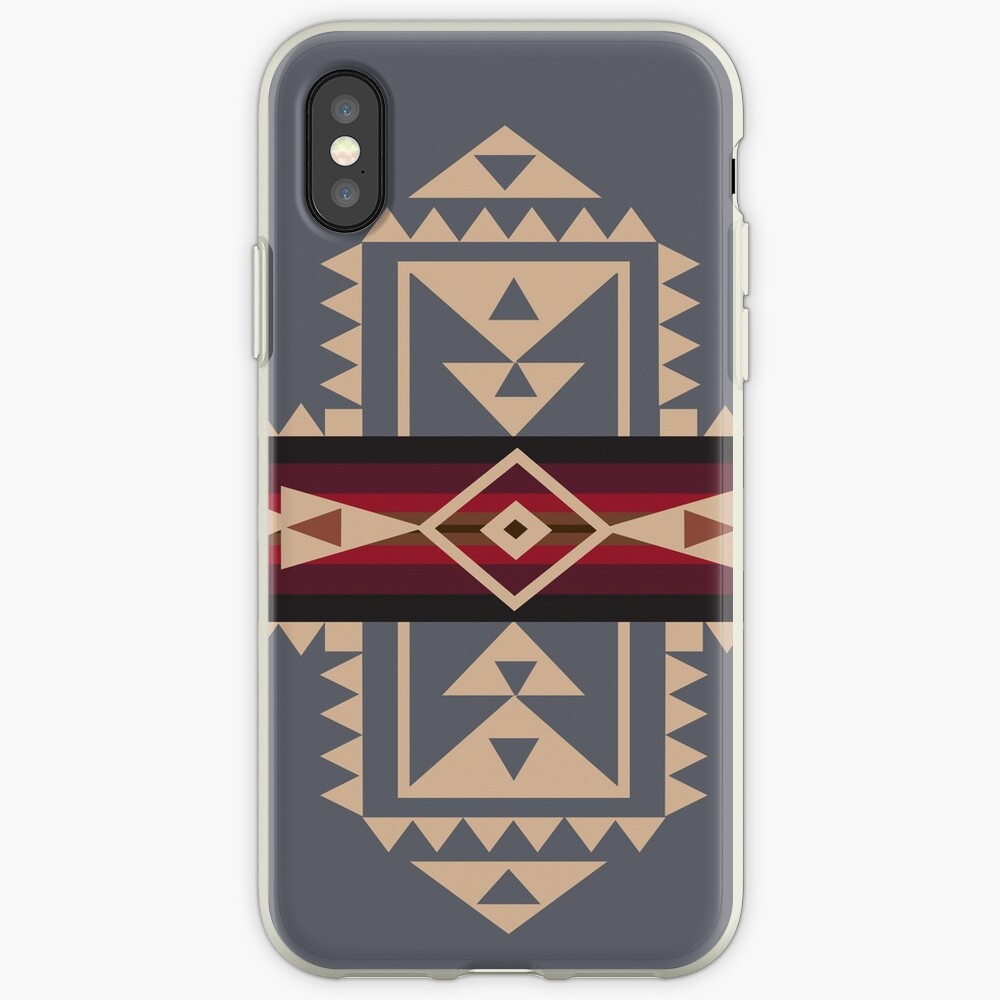 American Native Muster Nr. 68 iPhone-Hülle & Cover