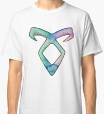 Fandom: Die tödlichen Instrumente / Schattenjäger Angelic Watercolor Rune Classic T-Shirt