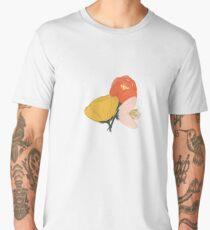 Gouache Painted Flowers Men's Premium T-Shirt