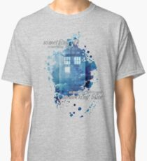 TARDIS - something blue Classic T-Shirt