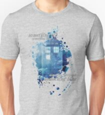 TARDIS - something blue T-Shirt