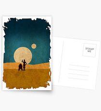 Droiden in den Dünen Postkarten