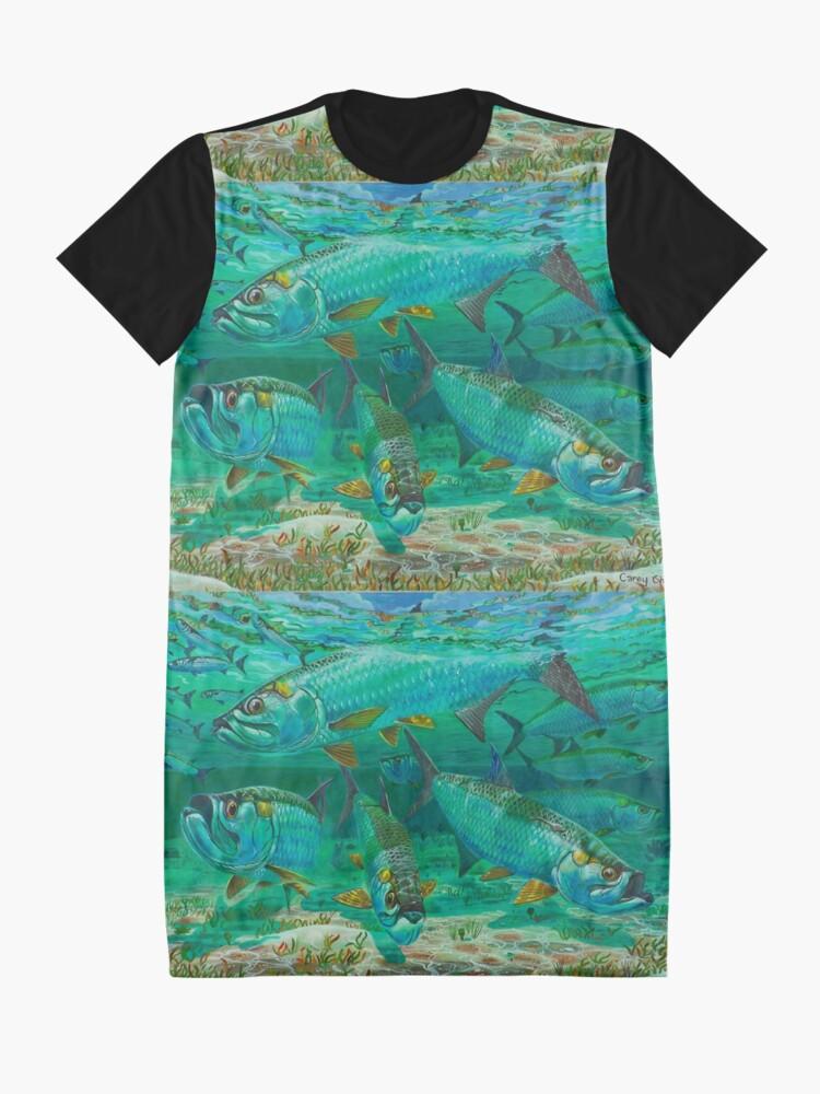 Alternative Ansicht von High Rollers T-Shirt Kleid