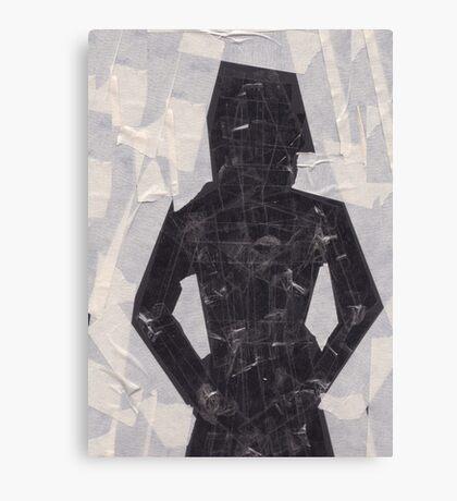 Stickytape man Canvas Print