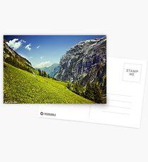 Lauterbrunnen Valley in Bloom Postcards